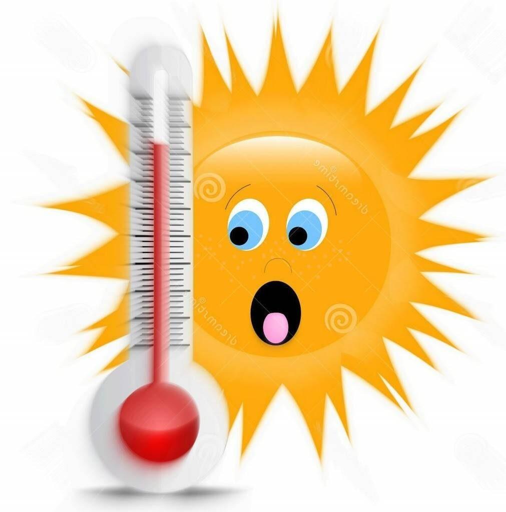 Fortes chaleurs cette semaine!